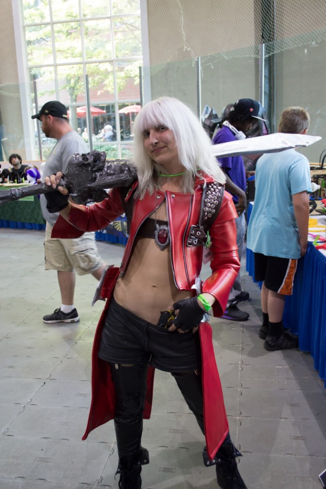 Devil May Cry 3 cosplay