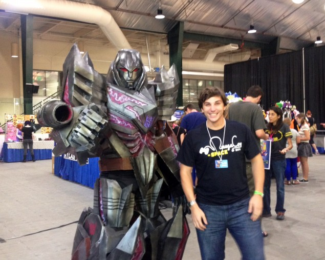 8 foot tall Megatron costume! This guy was really popular with photographers