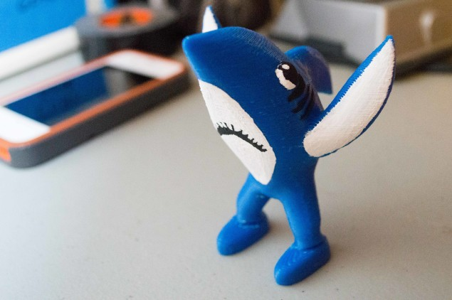 3D Printed Left Shark