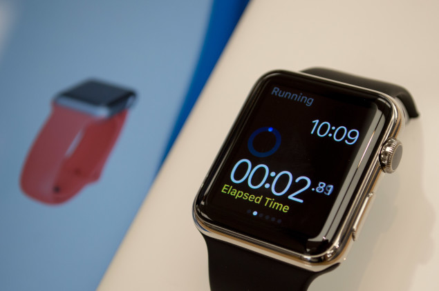 Display watch in demo mode