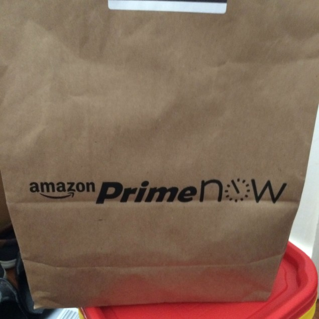 My Prime Now Bag!