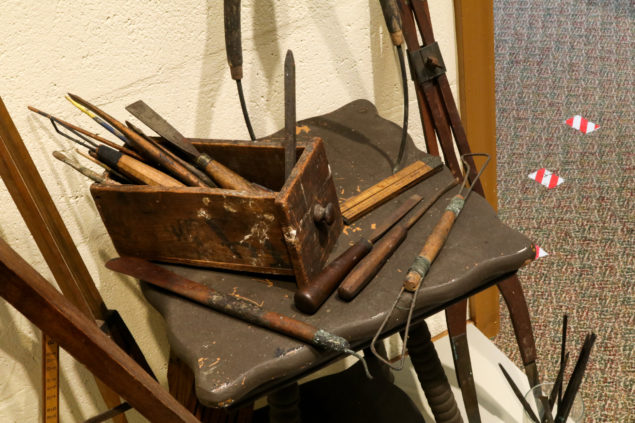 Some of Polasek's tools