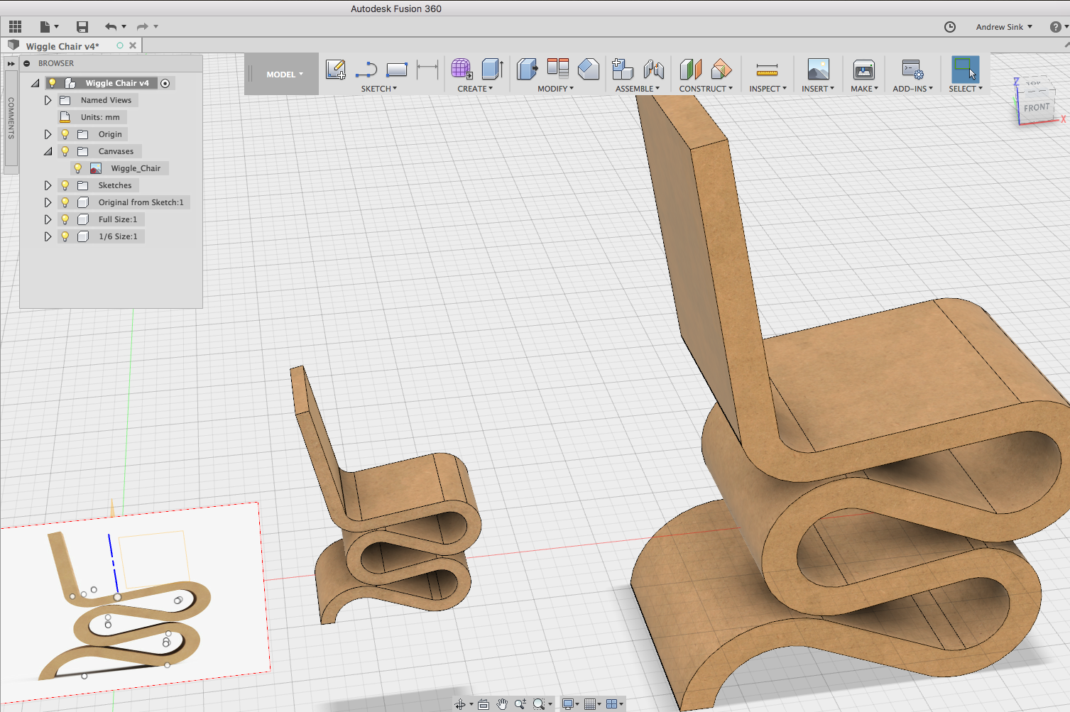 Fusion 360 Design Screenshot