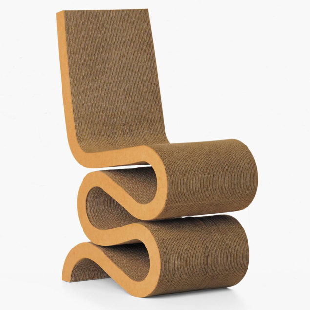 The Frank Gehry Wiggle Chair